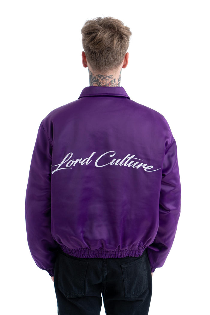LORD PURPLE SATIN JACKET