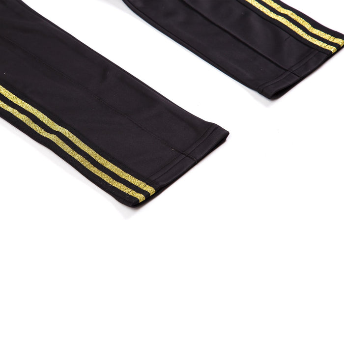 TRACK PANTS - BLACK/GOLD