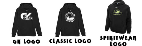 Logo on hoodies