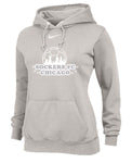 Nike Women's Team Club Fleece Hoody (Available in Sky Blue, Royal and Grey)
