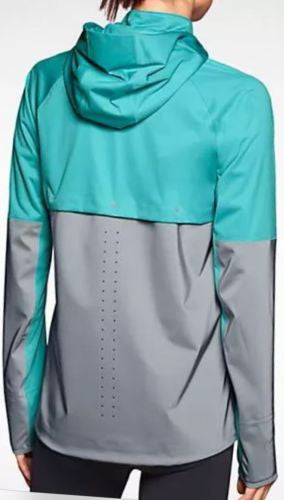 ... NIKE SHIELD FLASH WOMEN S RUNNING JACKET NEW REFLECTIVE 619026 388 HIGH  VIS 4f6e868885e0