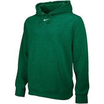 Nike Mens Team Club Fleece Hoody - also in youth sizes(Available in Pine Green)