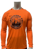 Nike L/S Park III Goalie Jersey, Total Orange