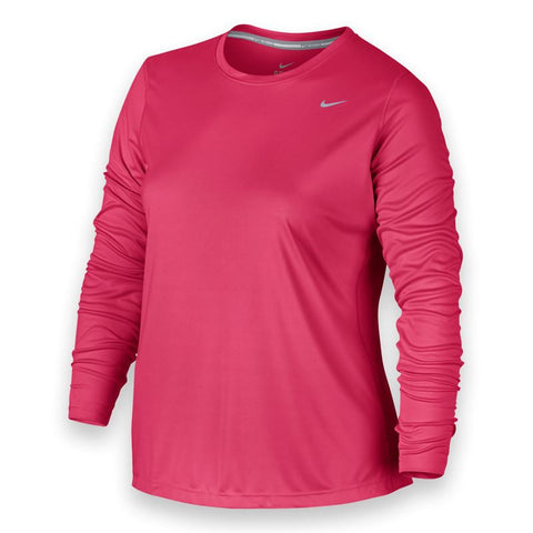 Nike Plus Size Long Sleeve Miler Top