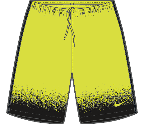 US LASER WVN PR SHORT NB, Volt