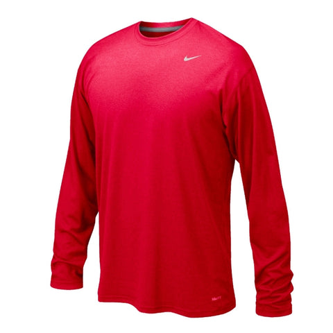 Nike Legend L/S Travel, Scarlet Red(Girls) (Youth Sizes Available)