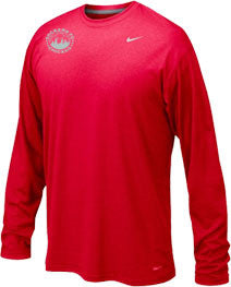 Nike Legend L/S Training Tee, Scarlet Red(Girls)
