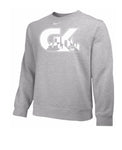 Nike Team Club Fleece Crew (Available in Grey, Black and Royal)