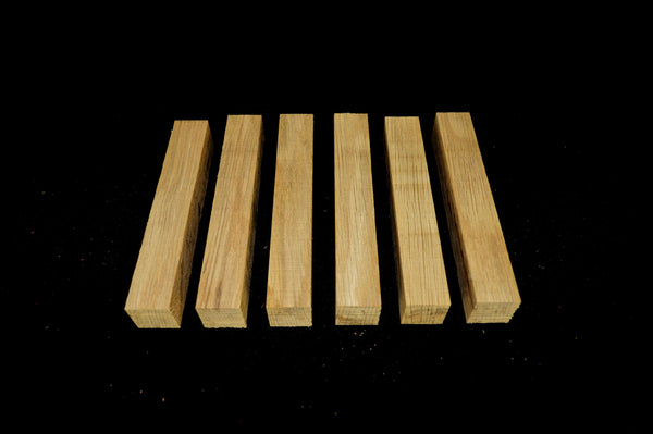 Oak Pen Blanks (6 peices) - Crooked Road Hardwoods
