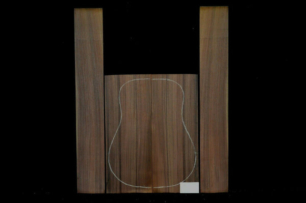 INDIAN ROSEWOOD Back and Sides Luthier Tonewood Guitar Wood Supplies IRAGD-006