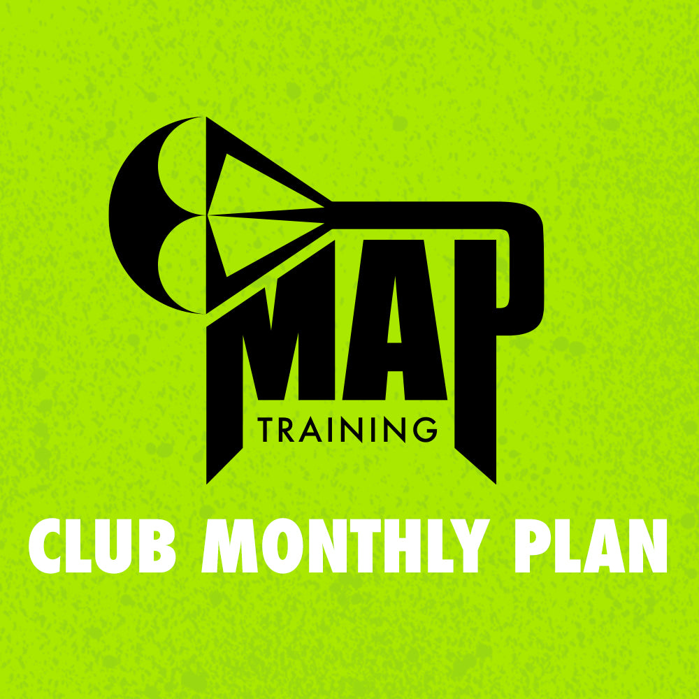 MAP TRAINING CLUB MONTHLY PLAN