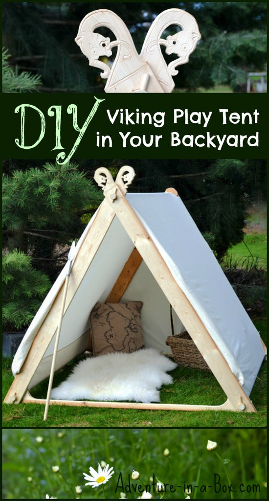 Build a Viking Playtent