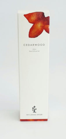 Cedarwood Reed Diffuser - 250 mls