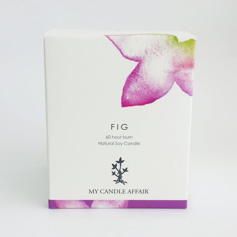 Fig Soy Candle - 60 Hour