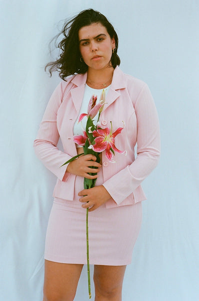 Pink Skirt Suit (M)