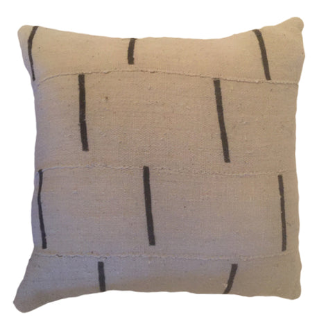 Accent Pillow - Authentic African Mud Cloth - Dash
