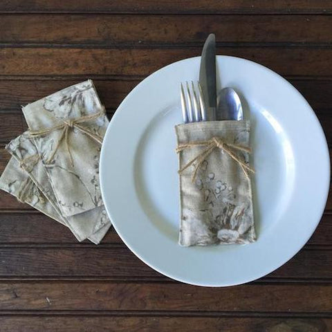 Flatware Sleeves - Heather