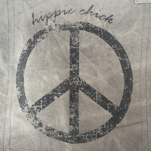 Hippie Chick Peace Tote