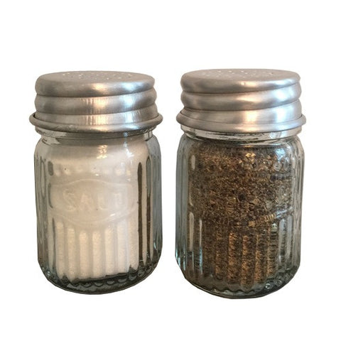 Hoosier Salt & Pepper Shakers