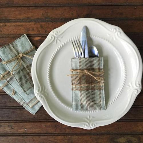 Flatware Sleeves - Jennifer