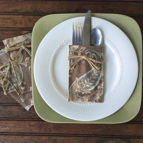 Flatware Sleeves - Jessica