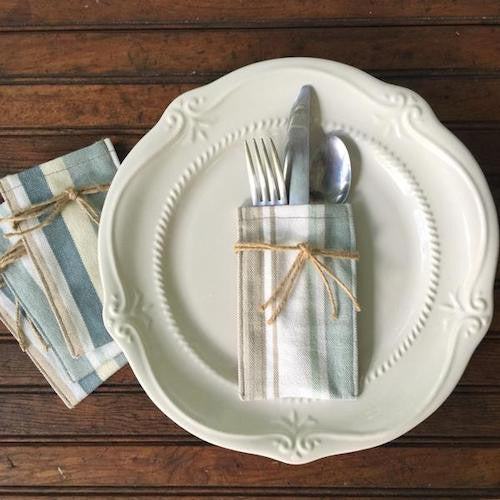 Flatware Sleeves - Leslie