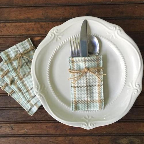 Flatware Sleeves - Patricia