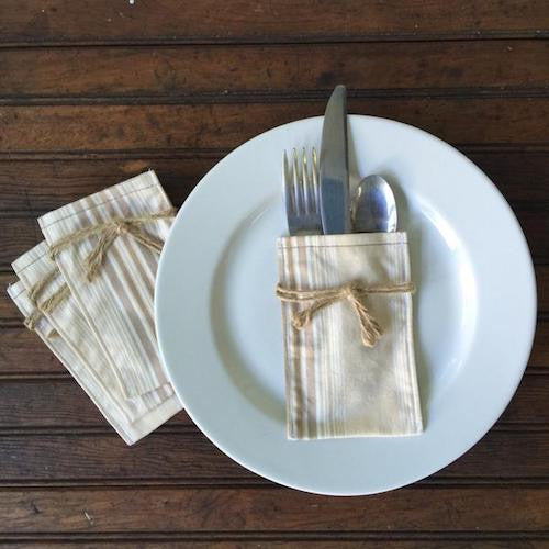 Flatware Sleeves - Teddy