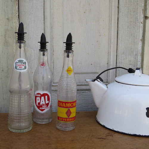 Vintage Soda Bottle Soap Dispensers