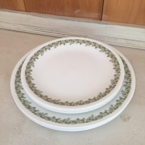 Spring Blossom Corelle Plates - 8