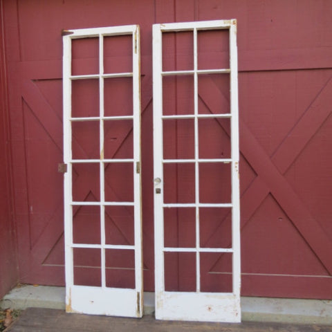 French Paned Doors