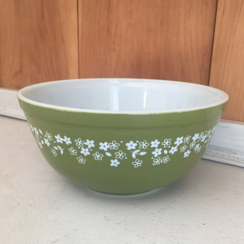 Vintage Pyrex Spring Blossom Mixing Bowl