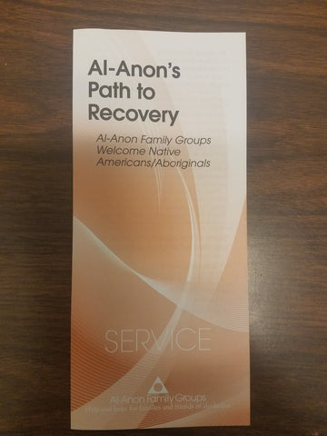 Al-Anon's Path to Recovery, Welcome Native Americans/Aboriginals