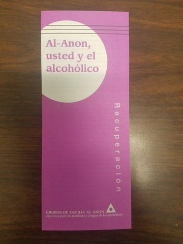 AI-Anon, usted y el alcoholico