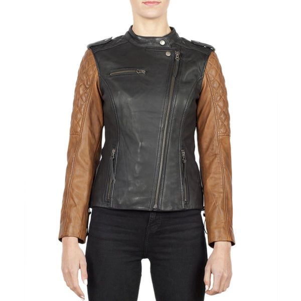 Black Arrow Liberty Wheels Leather Jacket - SUUS - 1