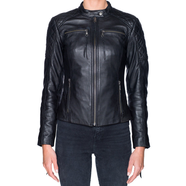 Black Arrow Ain't No Sissy Leather Jacket - SUUS - 1