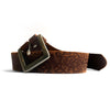 Suus Brown Textured Belt - SUUS - 1