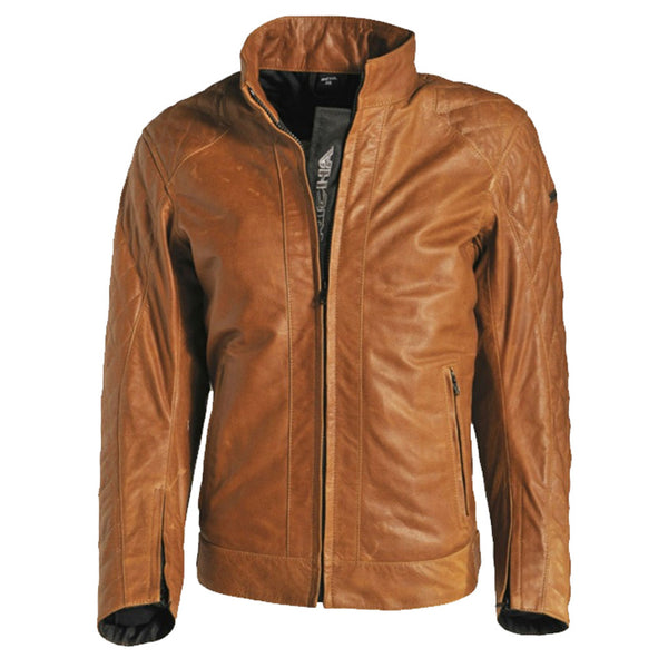 Richa Caroline Womens Cognac Leather Jacket - SUUS - 1
