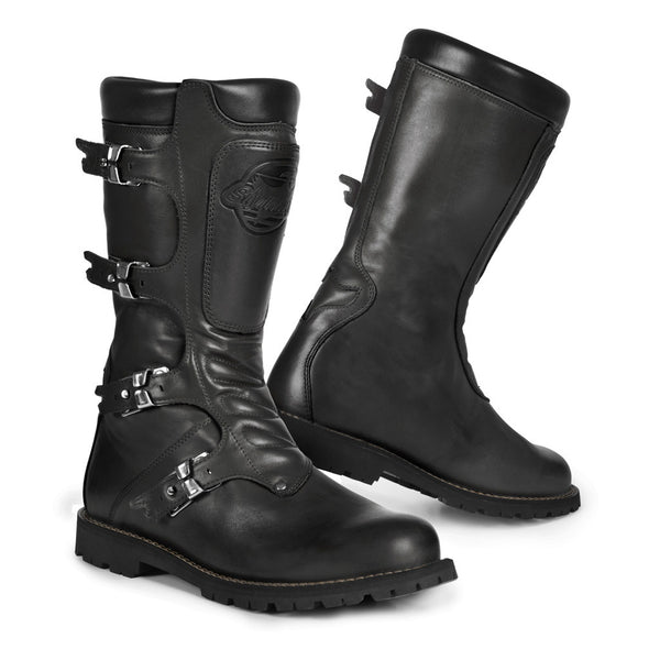 Stylmartin Continental Black Motorcycle Boots - SUUS - 1