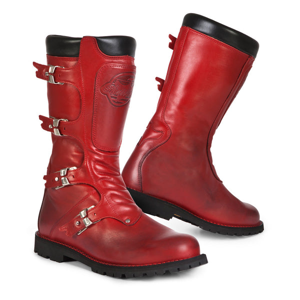 Stylmartin Continental Red Motorcycle Boots - SUUS - 1