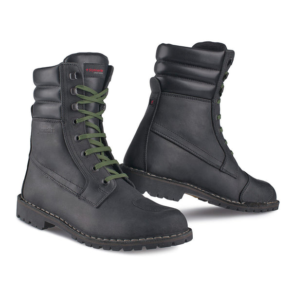 Stylmartin Indian Black Motorcycle Boots - SUUS - 1