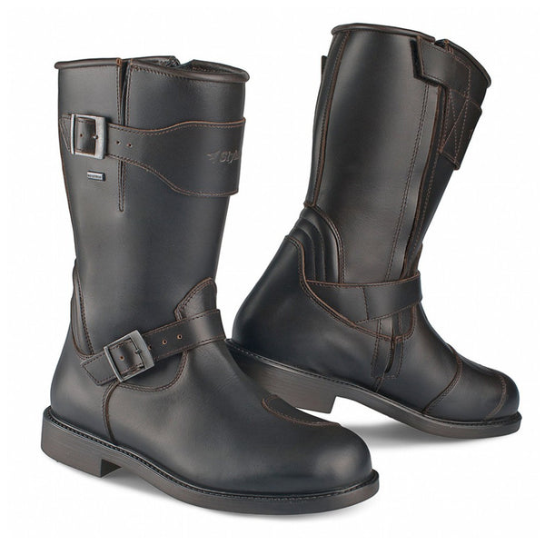Stylmartin Legend R Brown Motorcycle Boots - SUUS - 1