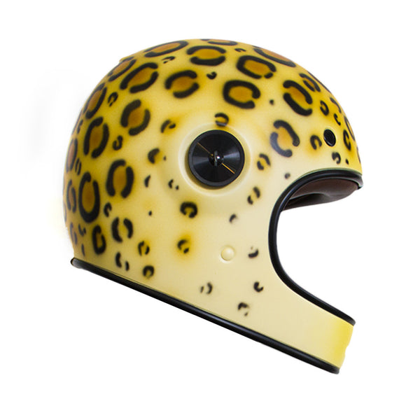 Bell Bullitt Custom Cheetah - KDS Designs and Suus