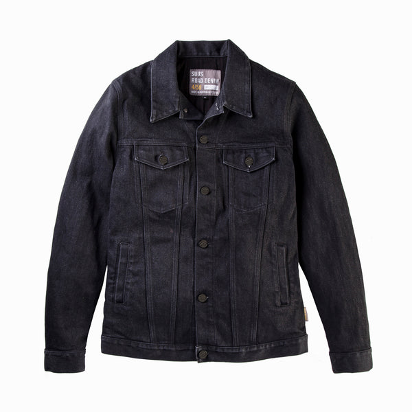 ROAD DENIM 450 JACKET BLACK