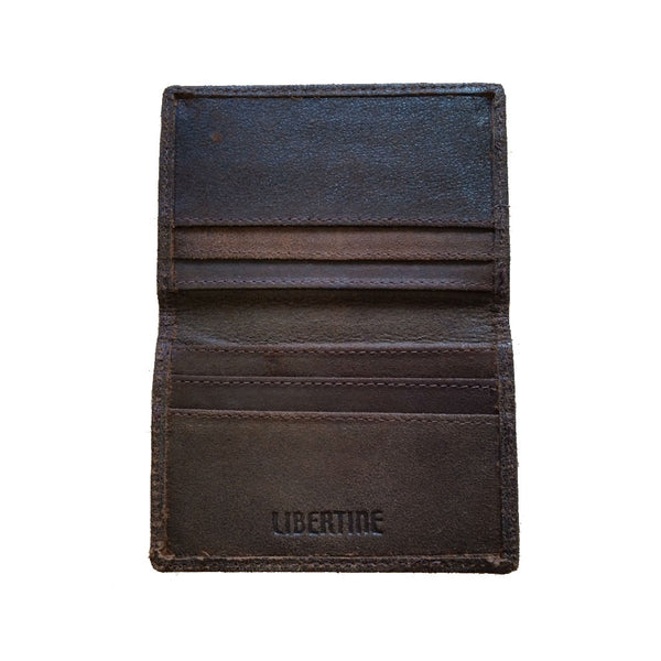 Simple Leather Card Wallet - SUUS - 1