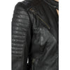Black Arrow Wild and Free Black Leather Jacket - SUUS - kevlar lined