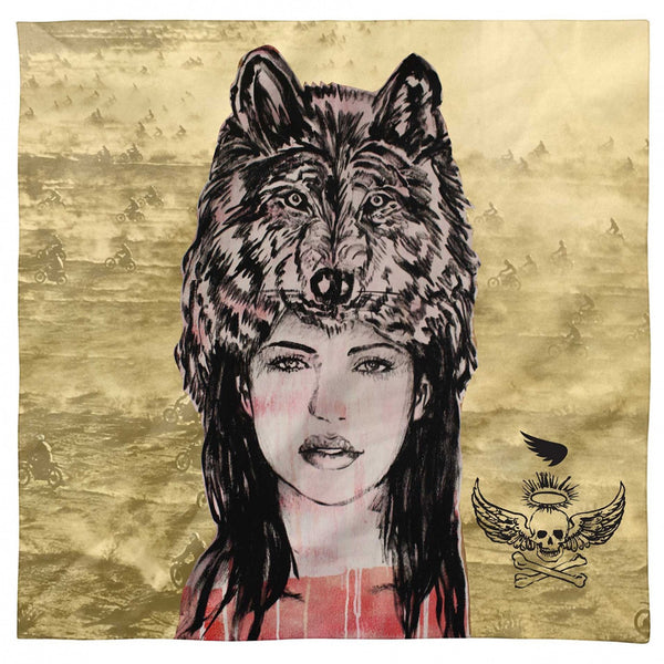 SAINT BROMLEY WOLFMOTHER SCARF - SUUS