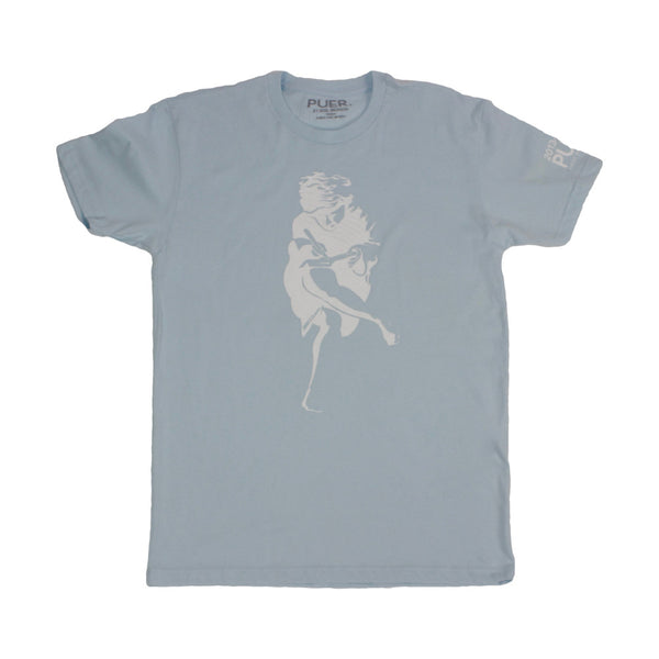 Athen Tee Shirt * Grown Man Blue* - PUER BY NOEL BRONSON
