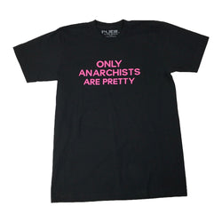 Anarchist Tee * Black *