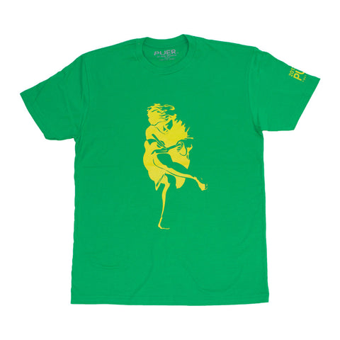 Athen Tee Shirt *West Indian Green * - PUER BY NOEL BRONSON